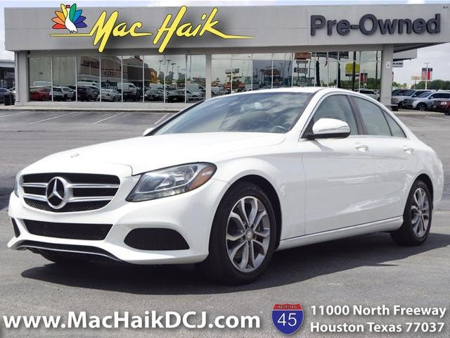 Mercedes Benz North Houston >> Pre Owned 2015 Mercedes Benz C Class C 300 Sedan In Houston P12598