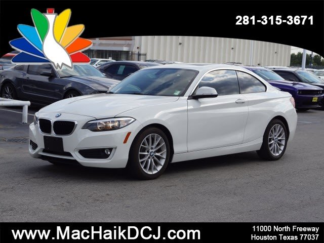 PreOwned 2014 BMW 2 Series 228i Coupe in Houston W8883  Mac